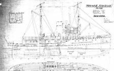 """Bauplan Motorschiff """"Altenbruch"""""""