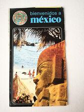 Vintage Mexico Travel Brochure Guide 1980 (#2)