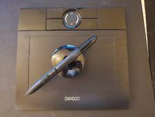 USED Wacom Bamboo Pen Tablet in Black - STYUS PEN included MTE-450
