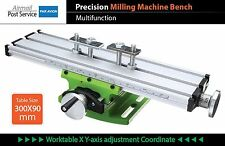 Precision Milling Drilling drill press Machine Bench Table Vise Vice Worktable