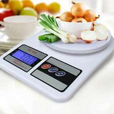 Kitchen Digital Electronic 10kg Scales Lcd Food Weighing Scale Cooking Weight UK