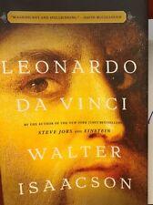 SIGNED IN PERSON WALTER ISAACSON  Leonardo Da Vinci 2017 HCDJ WOW!!