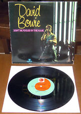 """LP 10"""" DAVID BOWIE Don't be fooled by the name (Prt 81 UK) 1st ps EX!"""
