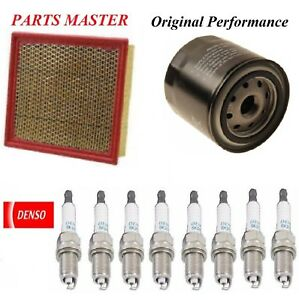 Tune Up Kit Filters Spark Plugs For FORD F-250 SUPER DUTY V8 6.2L 2011-2016