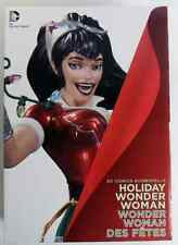Batman Comics Bombshells WONDER WOMAN STATUE Holiday Variant Dc Direct Rare
