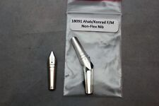 Noodlers Ahab Konrad Fountain Pen Replacement Non-Flex Nib F/M