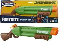 Nerf Super Soaker Fortnite Pump-SG Water Blaster Ages 8+ Toy Gun Pump Action Fun