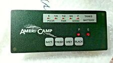 RV CAMPER Ameri-Camp WATER TANK & BATTERY INDICATOR Light  PANEL AC LED 3 TANK