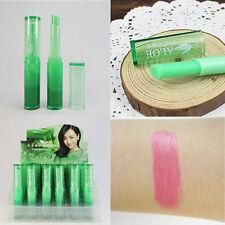 1PC Aloe Vera Lipstick Color Mood Changing Long Lasting Moisturizing Lip Stick
