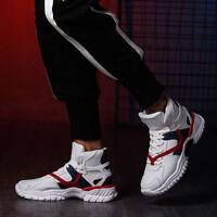 Herren Basketballschuhe Outdoor Laufschuhe Sneakers Sport High Top Boots Sneaker