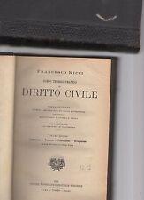 corso teorico-pratico di diritto civile - avv.francesco ricci - volume quinto