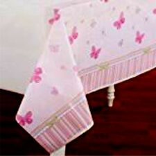 CARTERu0027S BABY GIRL Plastic Tablecloth Baby Shower Butterfly Party Supply ...