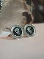 NOVELTY - PUNISHER - CUFF LINKS - SUPER HERO - AUSSIE STOCK