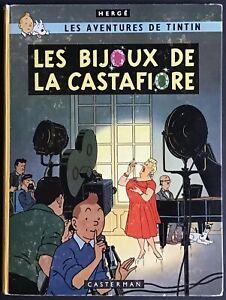 TINTIN Les Bijoux de la Castafiore B34 EO belge 1963 Très bon état