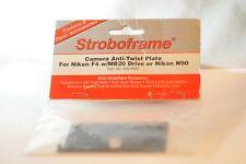 Strobo frame anti-twist bracket for Nikon F4 MB-20 & N90 N90s film SLR camera