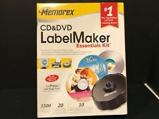 Memorex CD & DVD Label Maker Essentials Kit - 1500 Images And Clip Art