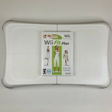 Nintendo Wii Fit Plus with Balance Board + Accessories (Tested & Working)