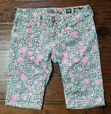 Miss Me Bermuda shorts Flower And Cheetah Print, Nice! (Inventory w15)