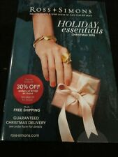ROSS SIMONS JEWELRY CATALOG HOLIDAY ESSENTIALS CHRISTMAS 2018 BRAND NEW