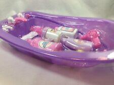 "Play Zone Baby Doll Bath Tub With Accessories 15""x10"""