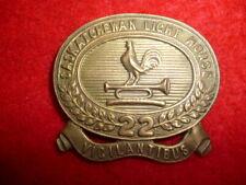 Canadian Militia - 22nd Saskatchewan Light Horse Cap Badge