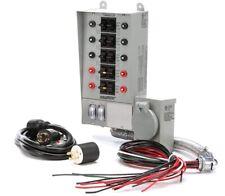 Reliance Controls 31410Crk Pro/Tran 10-Circuit 30 Amp Generator Transfer Switch