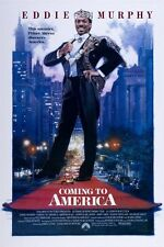 EDDIE MURPHY movie poster COMING TO AMERICA comedy NEW YORK CITY 24X36
