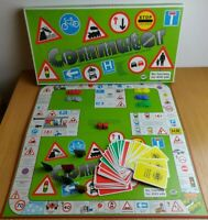 Commuter Board Game by SMT 1986 Practice Learn Road Safety ScaMaTra Rare Vintage