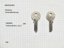 MERCEDES W110 Typ 230 Bj67   1  ORIGINAL Schlüssel  YMOS W,KW,TW f.OLDTIMER  689