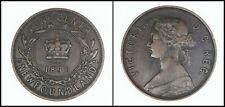 Newfoundland  1896 One Cent  KM # 1 - High Grade