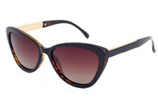 Eternal Polarised Women Ladies CatEye Sunglasses for Driving Brown TortoiseShell