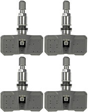 Four Tire Pressure Monitoring System (TPMS) Sensor Dorman 974-076