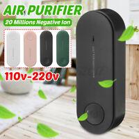 Air Purifiers Cleaner Negative Ionizer Generator Remove Formaldehyde Smoke Dust