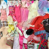 45+ PIECES OF FASHION DOLL/BARBIE CLOTHES COAT PURSE DRESS SHIRT PANTS HAT MORE