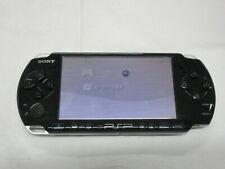 C633 Sony PSP 3000 console Piano Black Handheld system Japan
