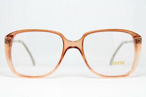 ZEISS 4078-8200 Vintage Brille Eyeglasses Frame Bril Glasögon Square Nerd XL 80s