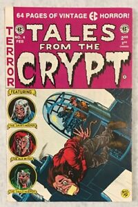 Tales From The Crypt No 4 EC Horror 1992 64 Page Reprint Ghastly Graham Ingels