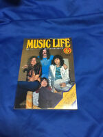 MUSIC LIFE magazine Japan 1974 June Led Zeppelin Cover page Marc Bolan