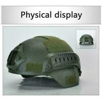 MICH2000 Helmet Outdoor Airsoft Military Tactical Combat Hat Riding Hunting I0N2