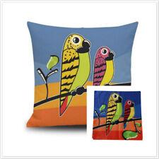 Funda de Almohada Lino Sofá Silla De Pintura Decorativa Decoración Hogar animal rústico