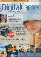 Zeitschrift DigitalCamera Magazin Heft 05/2003
