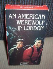 An American Werewolf in London (Vhs) John Landis Horror Comedy