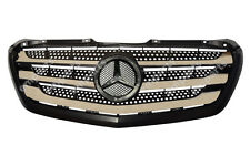 Mercedes Sprinter Front Grille with Chrome New Shape Facelift 2014 2018 Onwards