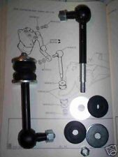 (x2) TRIUMPH TR4a TR5 TR6  Rear Suspension Lever Arm Damper Drop Links (1965-76)