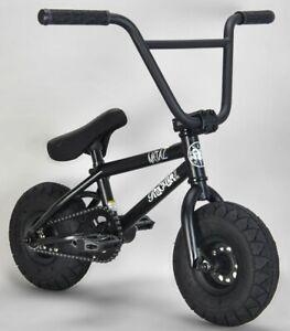 Rocker Metal IROK+ Mini BMX Bicycle Bike 1 Piece Crank Fat Tyre NEW