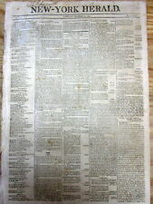 1804 newspaper w THE ARTICLES OF IMPEACHMENT against Federal Judge SAMUEL CHASE