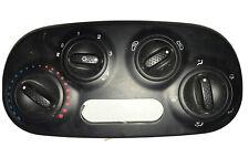 Fiat 500 Heater Switch Control Climate Control Black