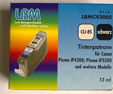 LBMC42005 CLi-85 SCHWARZ für Canon Pixma iP4200;iP5200