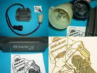 Regler / Gleichrichter  _ ZX-6R _ ZX6R  _ Bj 2000 - 2002 _ RGU-415 _ SH650-12