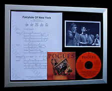 POGUES Fairytale Of New York LTD TOP QUALITY CD FRAMED DISPLAY+FAST GLOBAL SHIP